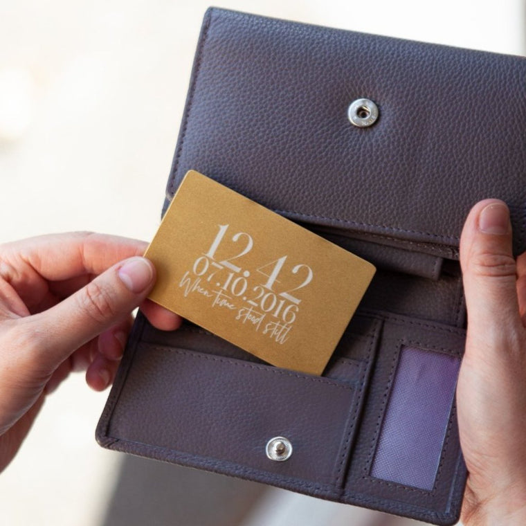 Significant Moment Keepsake Wallet Card