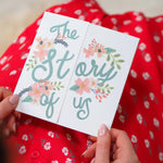 The Story of Us Photo Mother's Day Card