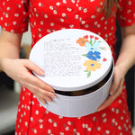 Personalised Handwritten Family Recipe Cake Tin