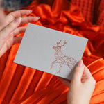 Geometric Stag CardClouds and Currents