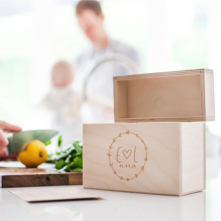 Couples Recipe Box