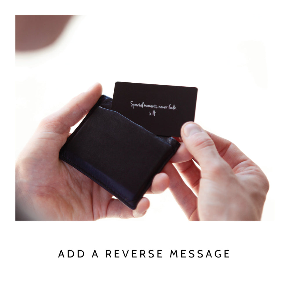 Significant Moment Keepsake Wallet CardClouds and Currents