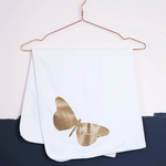 CLEARANCE Grace Butterfly Baby Blanket