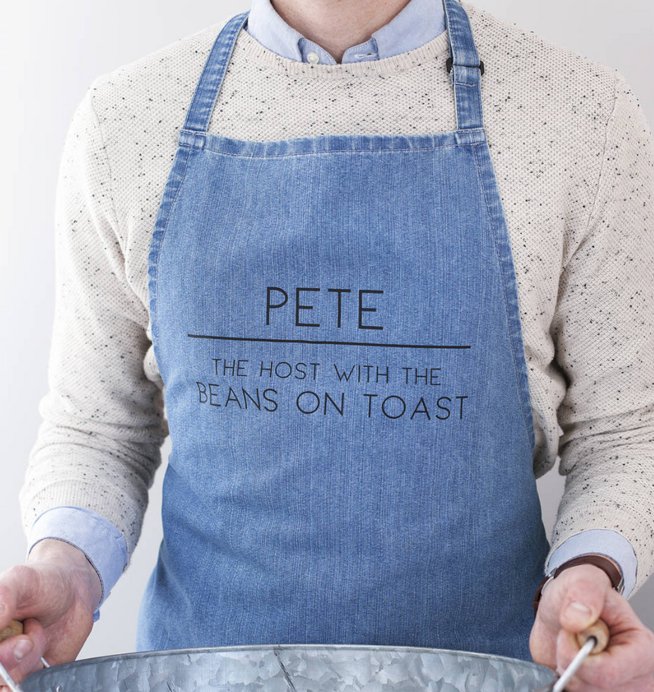 CLEARANCE Men's Slogan Apron