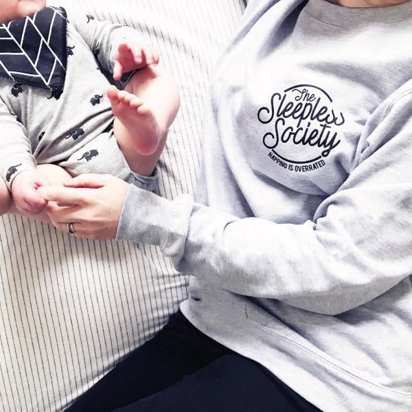 SLEEPLESS SOCIETY WOMENS SWEATSHIRT-clouds-and-currents