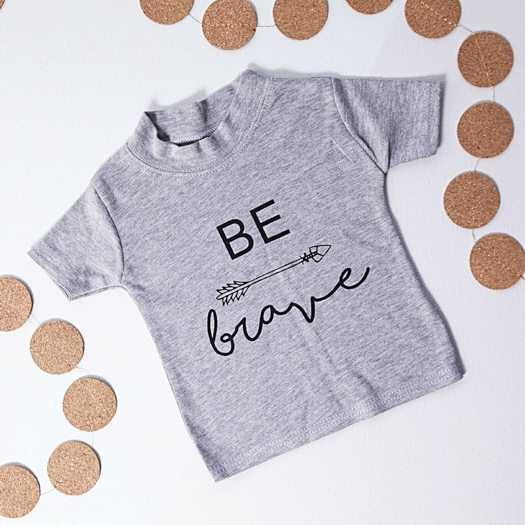 BE BRAVE KID'S T-SHIRT