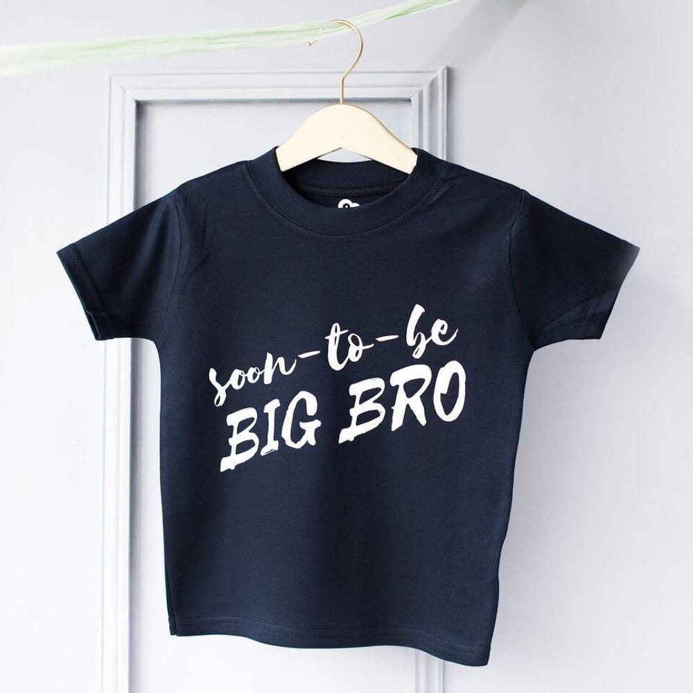 Big Bro Soon To Be Kid's T ShirtClouds and Currents