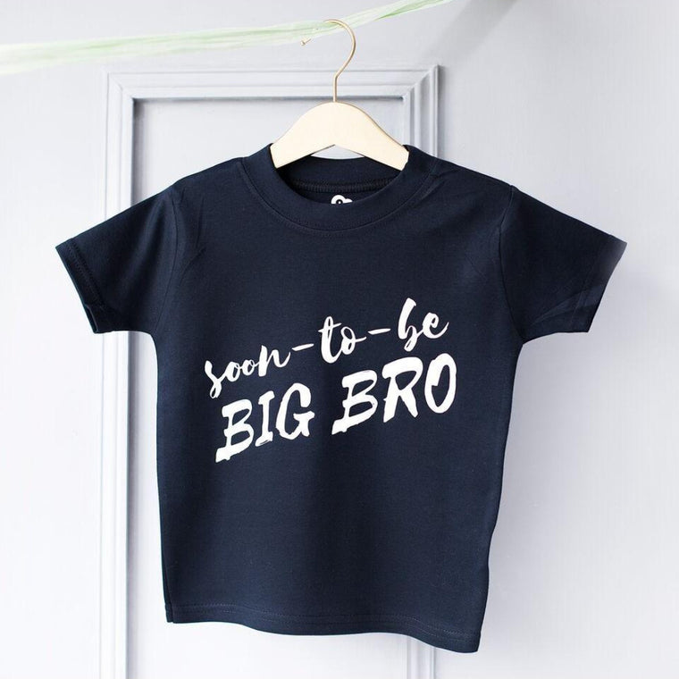 BIG BRO BABY ANNOUNCEMENT T-SHIRT
