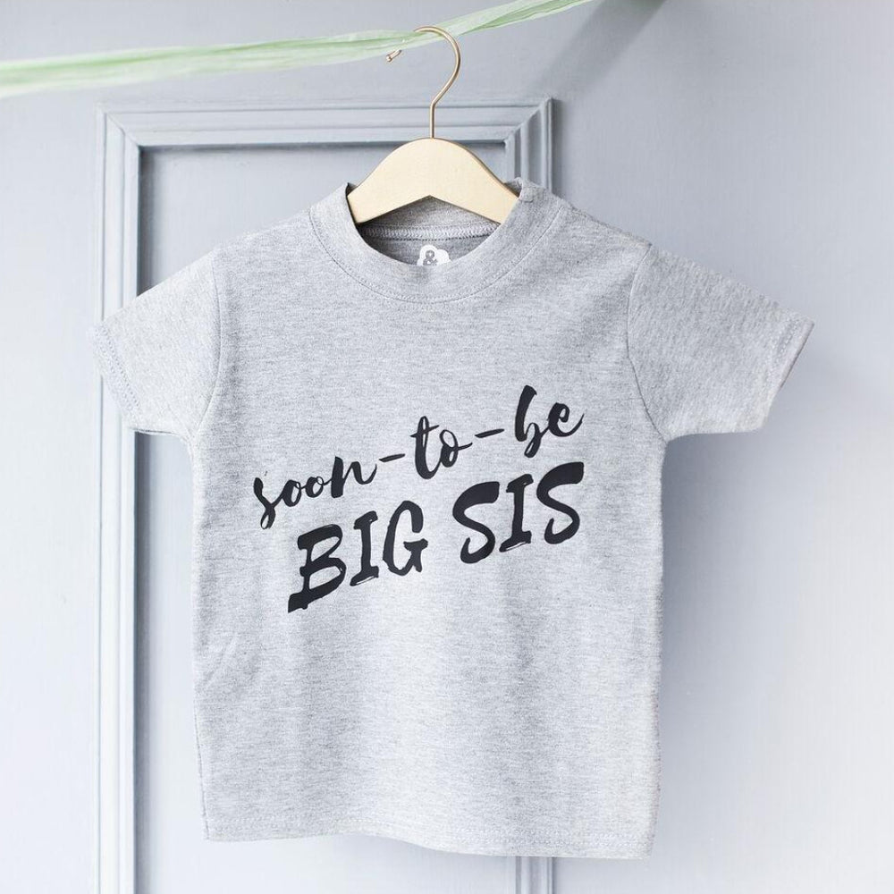 Big Sis Soon To Be Kid's T ShirtClouds and Currents