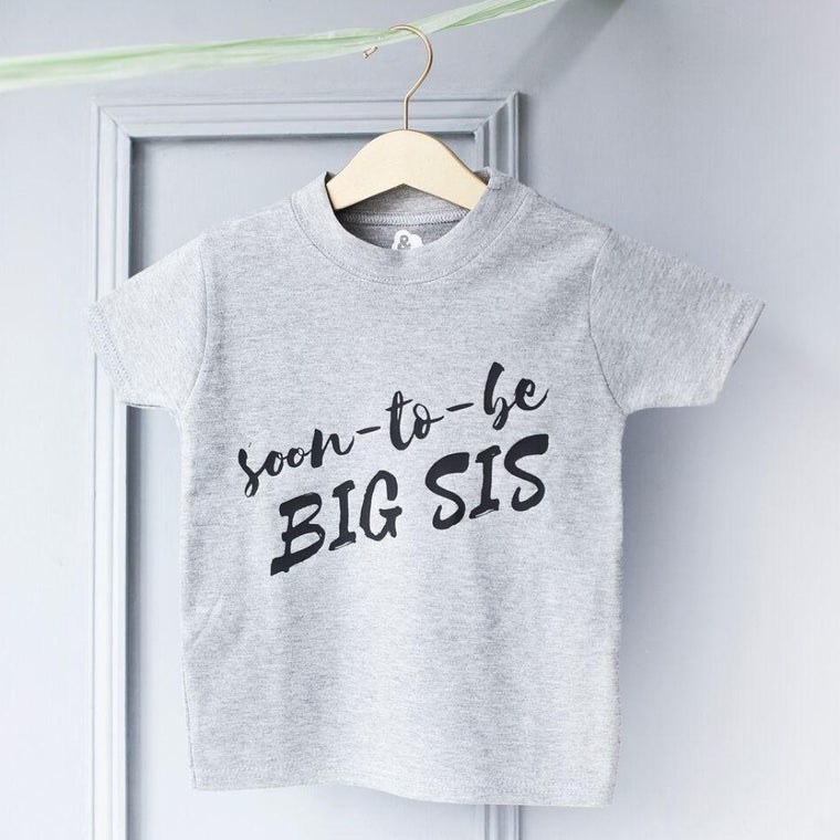 BIG SIS BABY ANNOUNCEMENT T-SHIRT