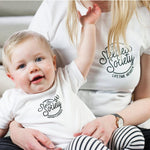 Mummy and Me Sleepless Society T Shirt SetClouds and Currents