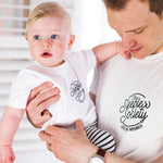 Daddy and Me Sleepless Society T Shirt SetClouds and Currents