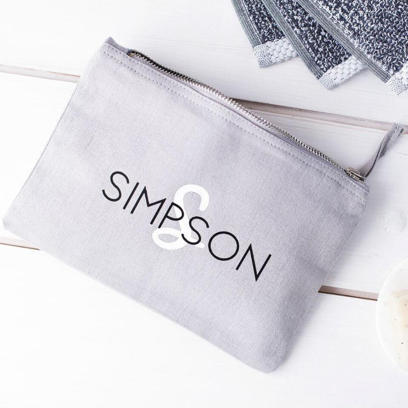 MEN'S SURNAME WASH BAG-clouds-and-currents