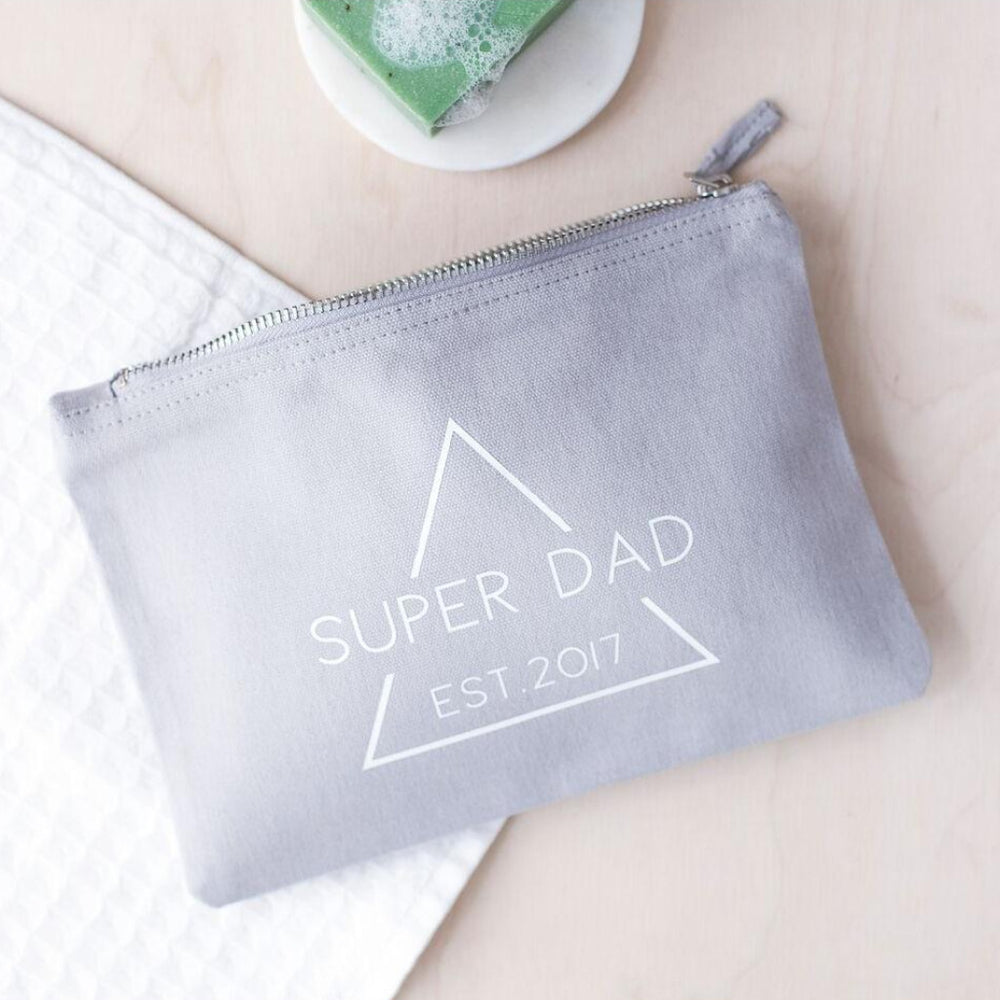 Super Dad Est. Wash Bag