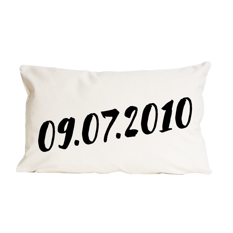 WEDDING DATE CUSHION-clouds-and-currents