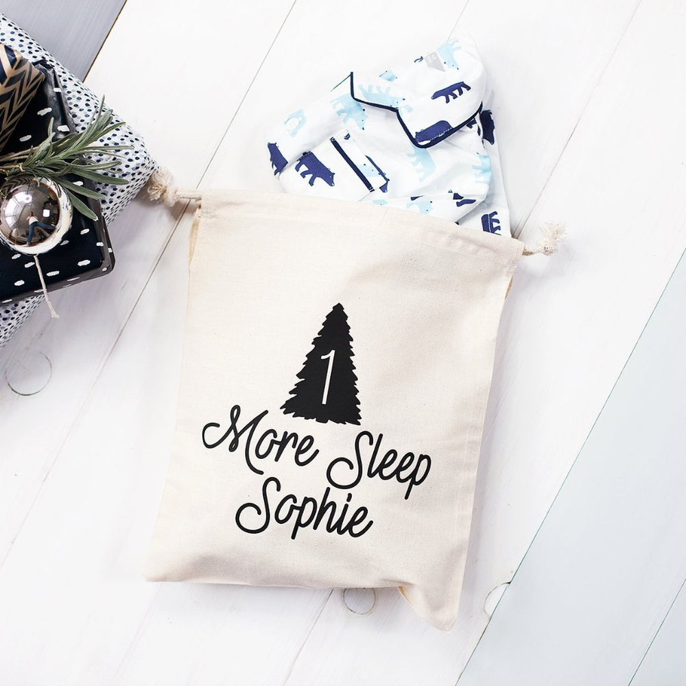 One More Sleep Christmas Eve Bag