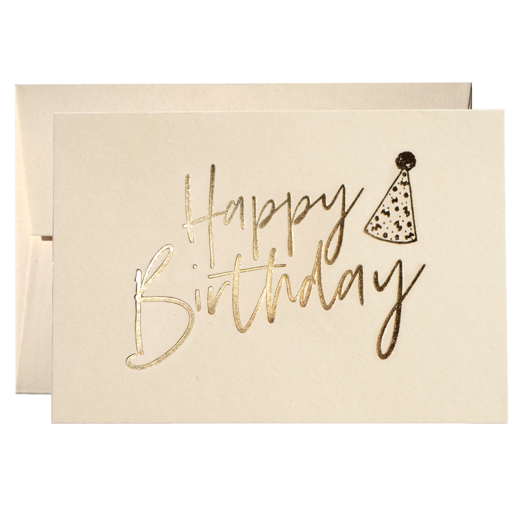 SET OF BIRTHDAY HAT CARDS (PPSM-07)