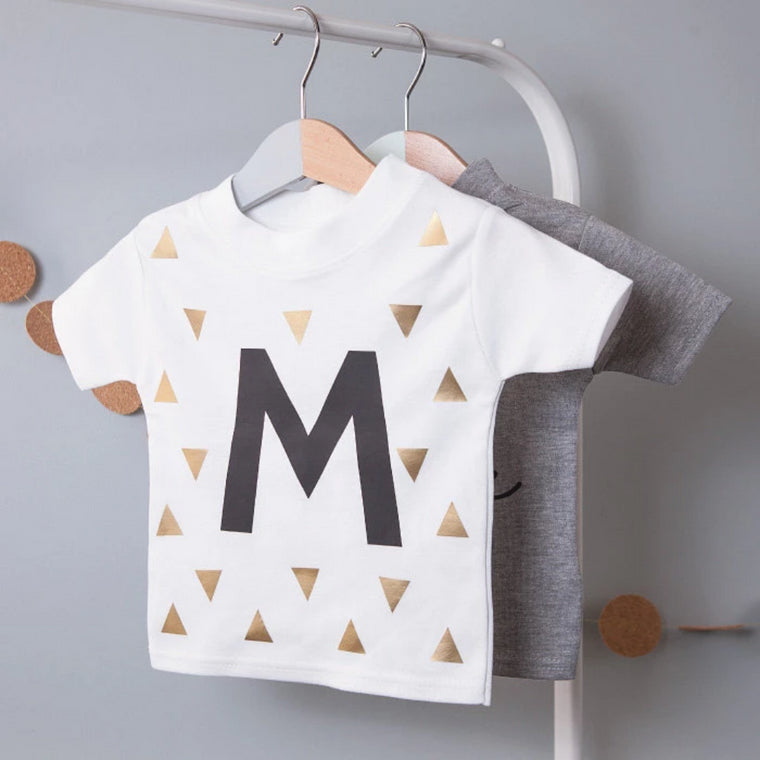 CLEARANCE PERSONALISED INITIAL KID'S T-SHIRT