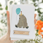 Personalised Party Animal Birthday CardClouds and Currents