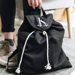 Organic Cotton Beach Backpack