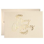Set Of 50 Merry Christmas Cards (PPSM-01)Clouds and Currents
