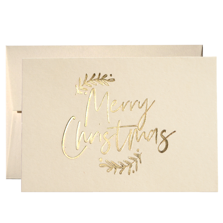 SET OF MERRY CHRISTMAS CARDS (PPSM-01)