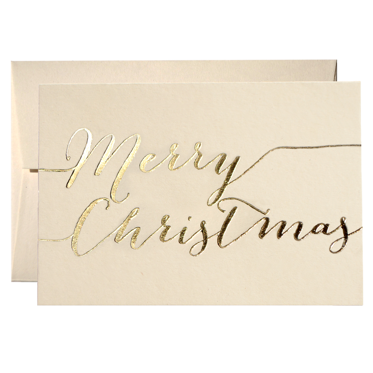 SET OF MERRY CHRISTMAS CARDS (PPSO-01)