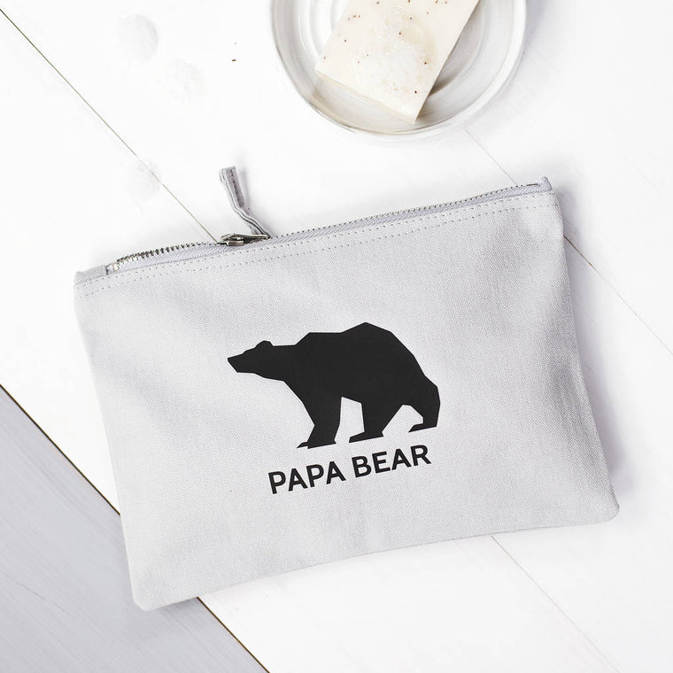 PAPA BEAR WASH BAG