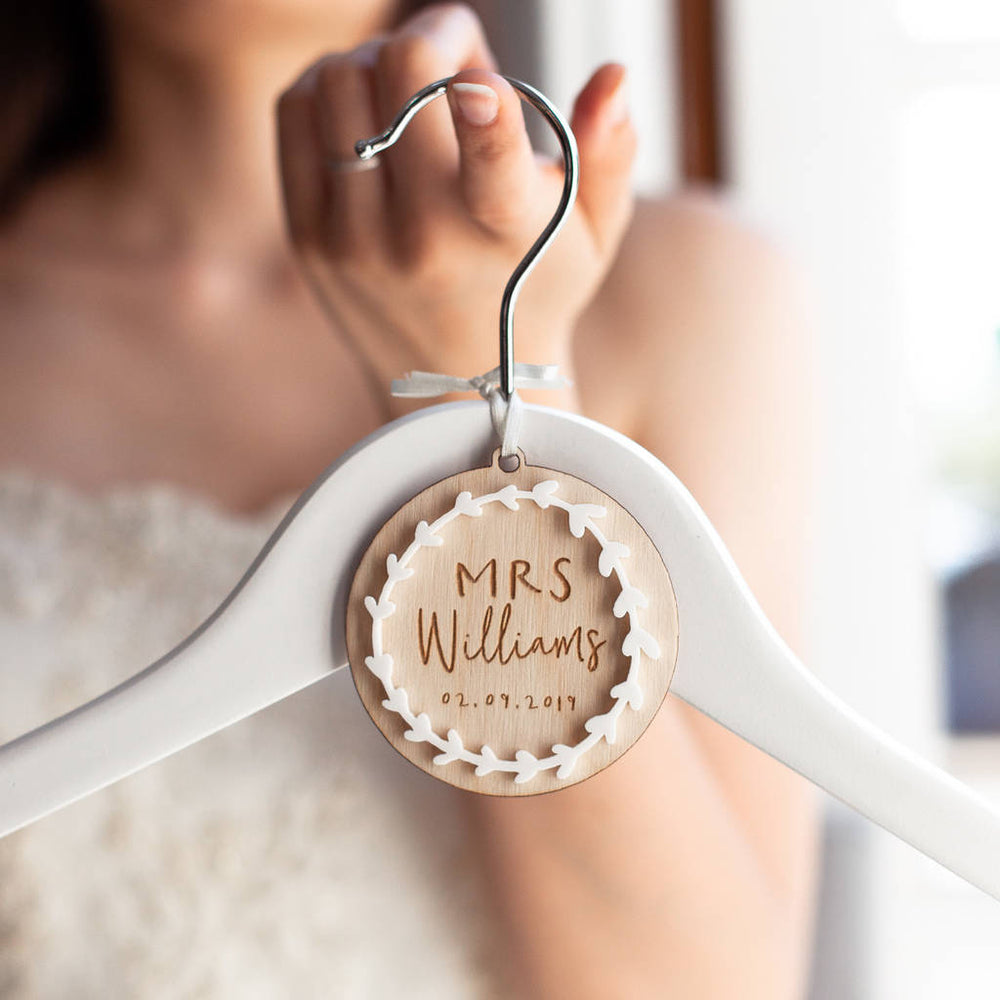 Bridal Wedding Hanger Charm