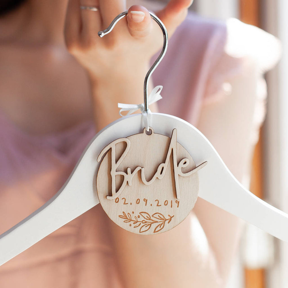Bride Wedding Hanger Charm