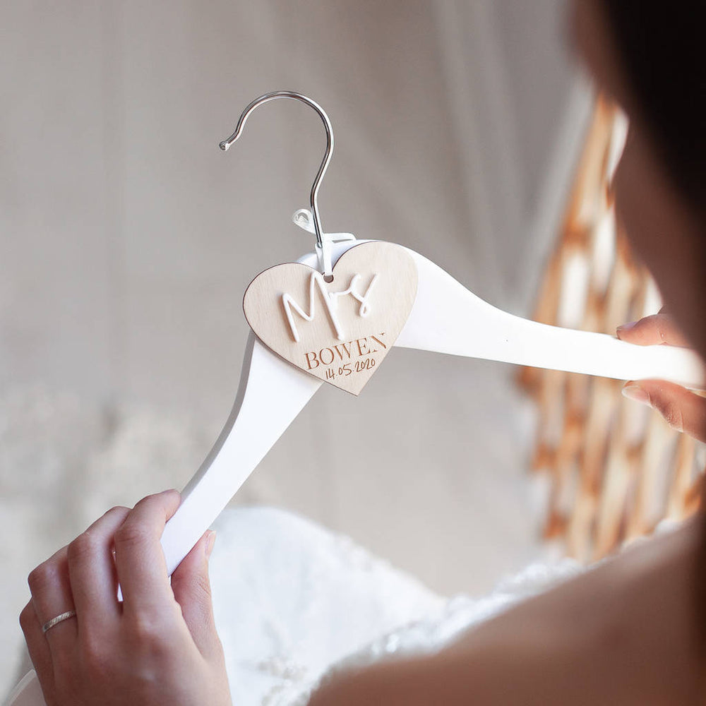 Heart Bridal Hanger CharmClouds and Currents