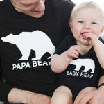 New Baby Bear Family Jumper Set