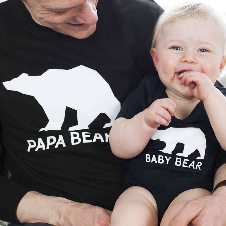 Father's Day Papa Bear Family Jumper Set
