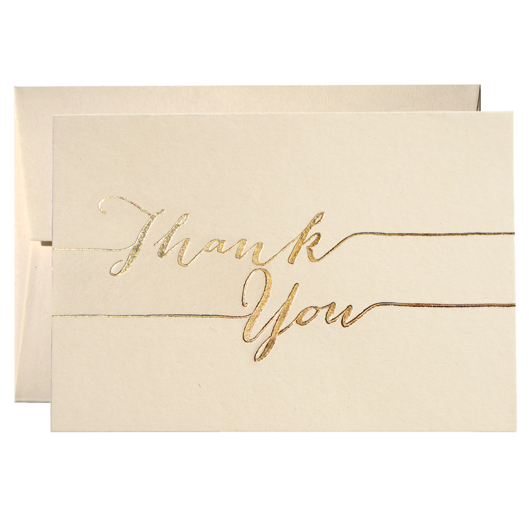 SET OF THANK YOU CARDS (PPSO-03)
