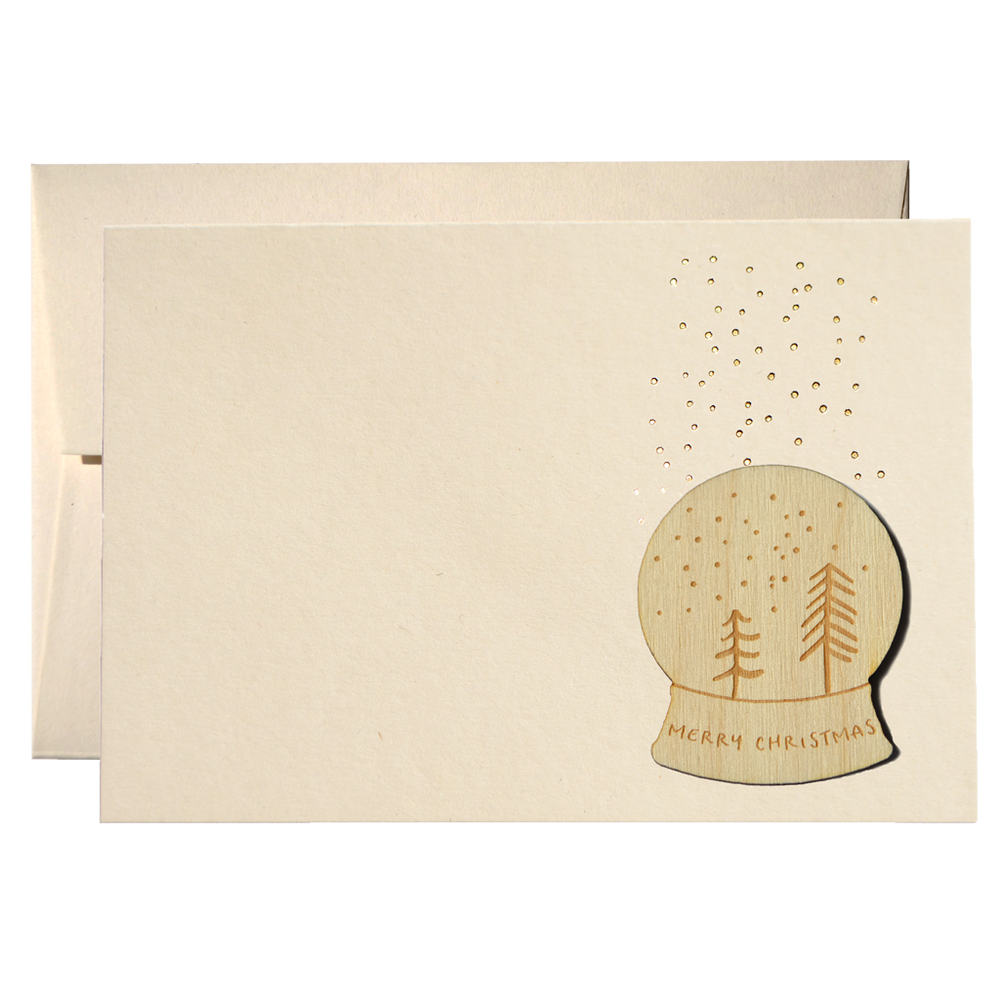 Set Of 50 Winter Forest Cards (PPSW-01)Clouds and Currents