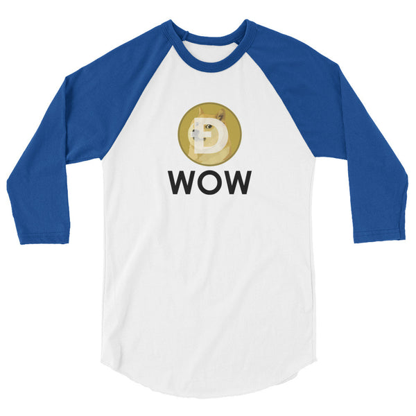 Dogecoin WOW Long Sleeve