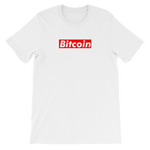 Bitcoin Short Sleeve Supreme Parody