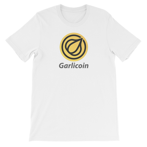 Garlicoin Short Sleeve Shirt (Centered)