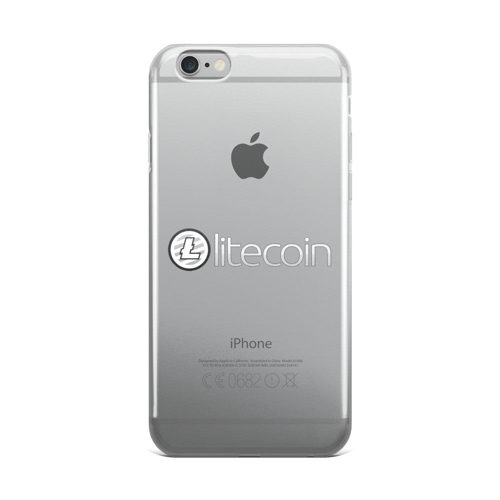 Litecoin iPhone 5/5s/Se, 6/6s, 6/6s Plus Case