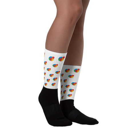 Reddcoin Pattern Socks