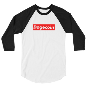 Dogecoin Long Sleeve Supreme Parody