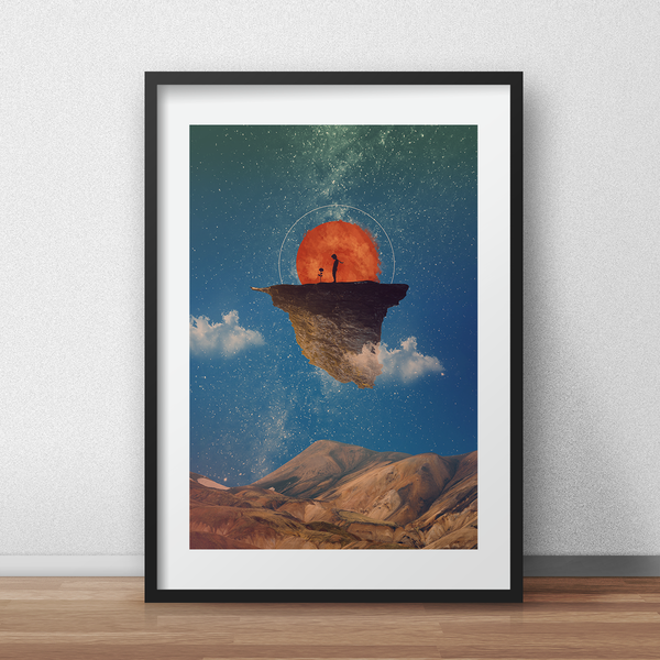 Little Prince Poster Digital artwork Print - iamloudness
