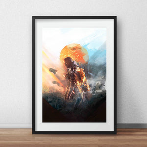 Battlefield1 artwork gaming and Bedroom Wall Decor