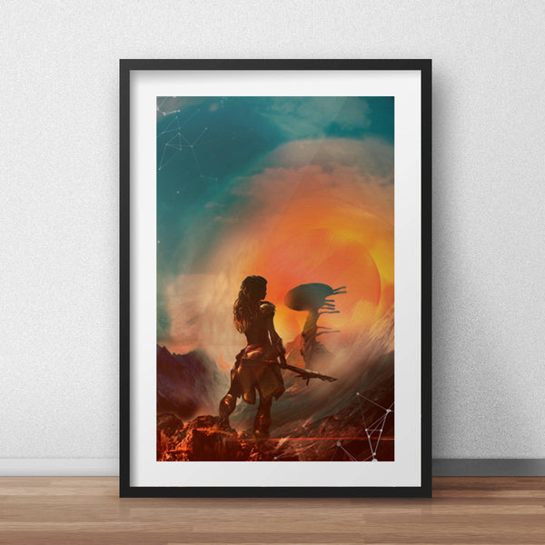 Video Game Horizon Zero Dawn Poster  Art Print