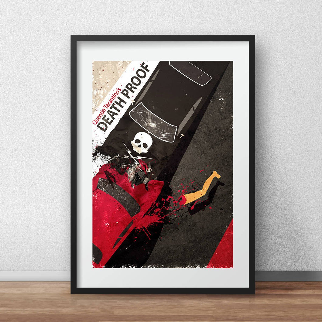 Death Proof quentin tarantino alternate movie poster