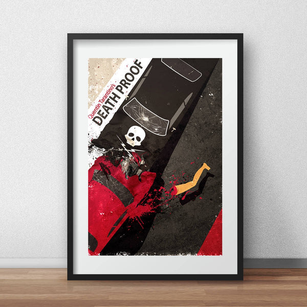 Death Proof quentin tarantino alternate movie poster - iamloudness