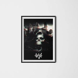 watchdogs 2 game poster print collectible artwork