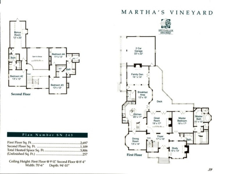 Martha 39 s vineyard spitzmiller norris house plans for Martha s vineyard house plans
