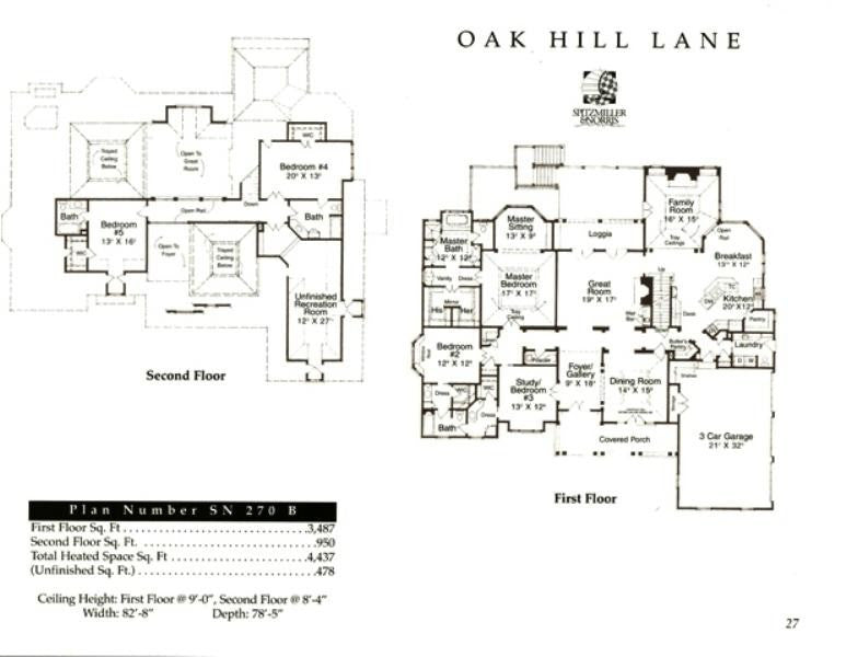 Oak hill lane spitzmiller norris house plans for American classic house mouse