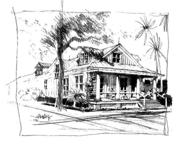 Bluff view cottage spitzmiller norris house plans for Island cottage house plans